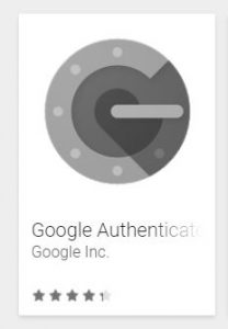 Image of the Google Authenticator App