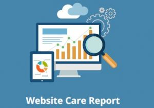 Image of Website Care Report Front Page