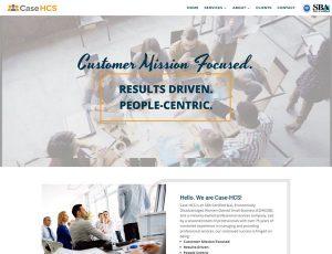 Screenshot from the Case HCS website