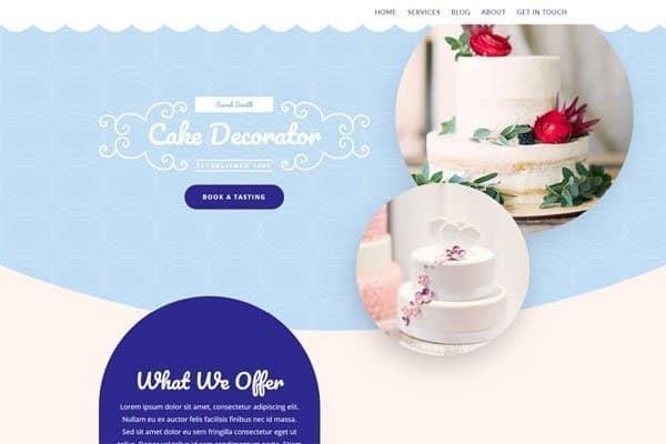 Website In a Box – Cakemaker